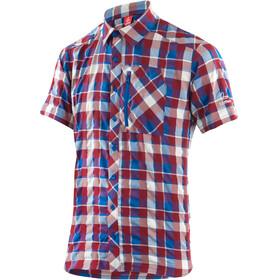 Löffler KA Kortærmet T-shirt Herrer rød/blå